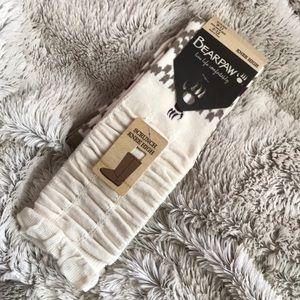 Bearpaw knee high socks
